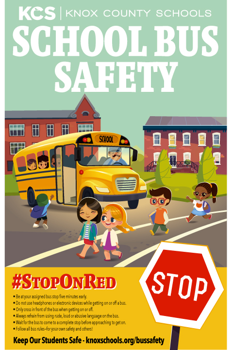 Knox County Schools celebrates National School Bus Safety Week