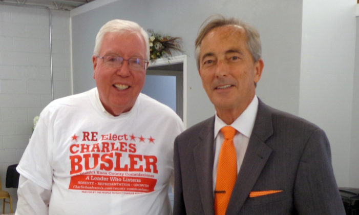 Busler Announces for Re-Election