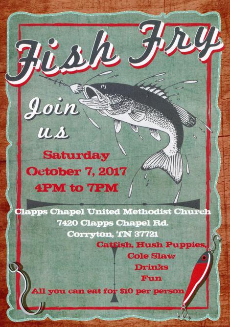 Fish Fry this Saturday!