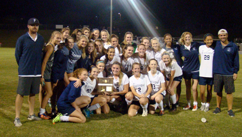 Lady Admirals win District Tournament as winning streak continues
