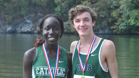 Kapaya and Coughlin capture KIL cross country titles