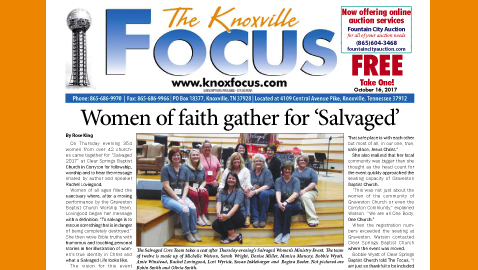 The Knoxville Focus for October 16, 2017
