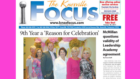 The Knoxville Focus for October 30, 2017