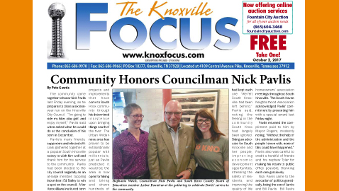The Knoxville Focus for October 2, 2017