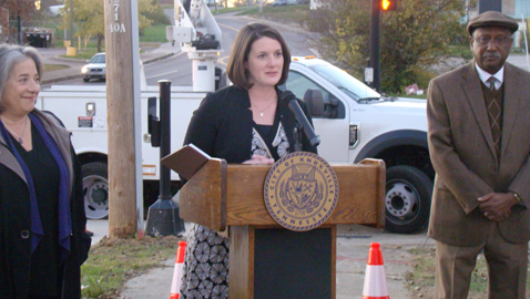 City begins streetlight retrofitting in East Knoxville