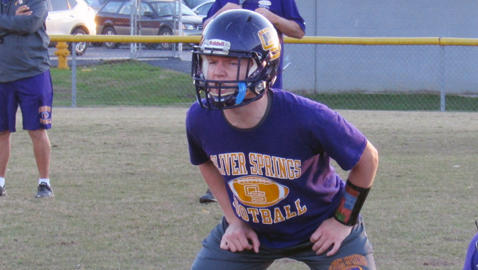 Friends and football help Oliver Springs player beat cancer