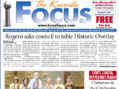 The Knoxville Focus for November 20, 2017