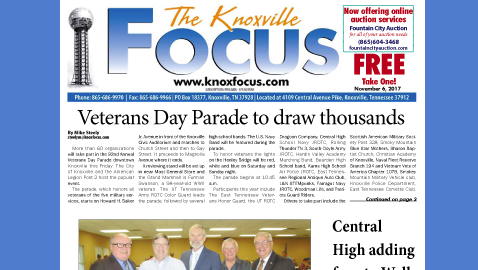 The Knoxville Focus for Monday, November 6, 2017
