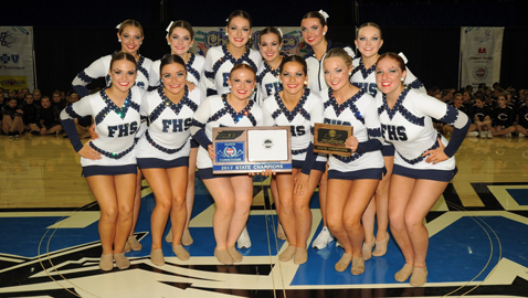 Farragut dance team earns state honors