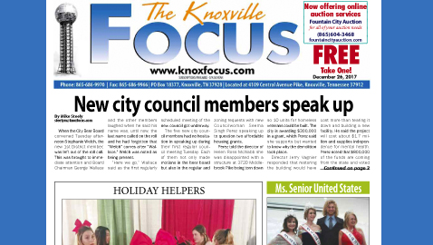 The Knoxville Focus for December 26, 2017