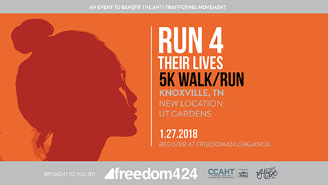 Local race to shed light on human trafficking, slavery worldwide