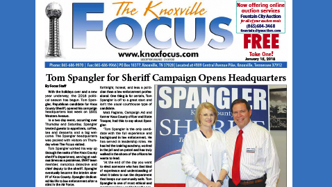 The Knoxville Focus for January 15, 2018