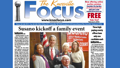 The Knoxville Focus for February 5, 2018