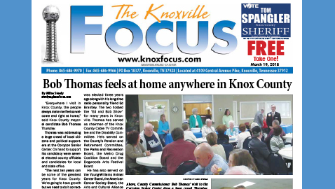 The Knoxville Focus for March 19, 2018