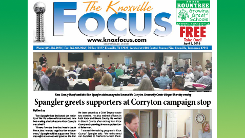 The Knoxville Focus for April 2, 2018