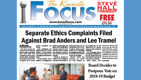 The Knoxville Focus for April 16, 2018