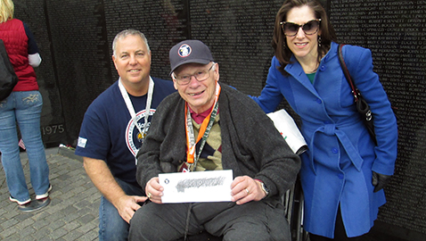 26th HonorAir trip flies 132 veterans to DC