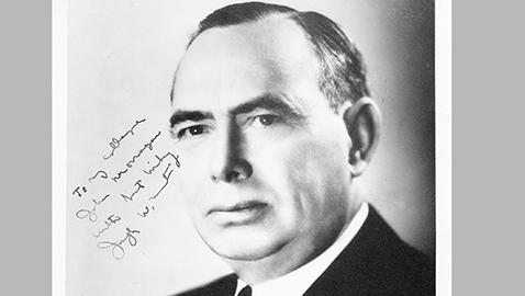 Mr Speaker: Joseph W. Martin of Massachusetts