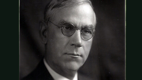 Senator Reed Smoot of Utah