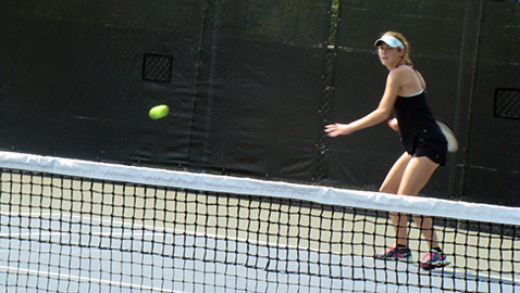 Adams to close stellar tennis career at Spring Fling