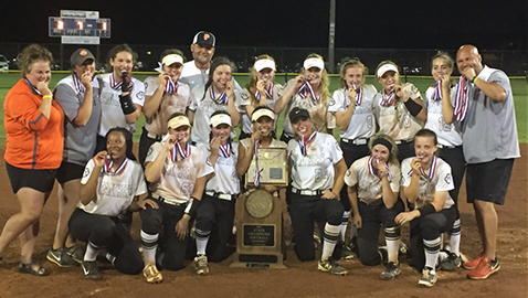 Hungry Lady Panthers wrap up Class AAA softball title