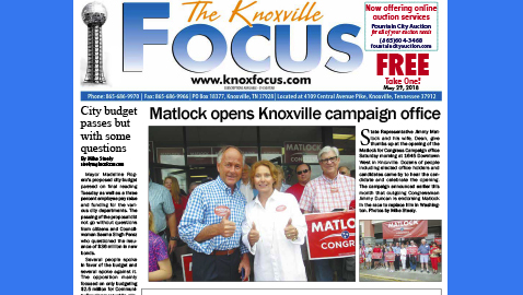 The Knoxville Focus for May 29, 2018