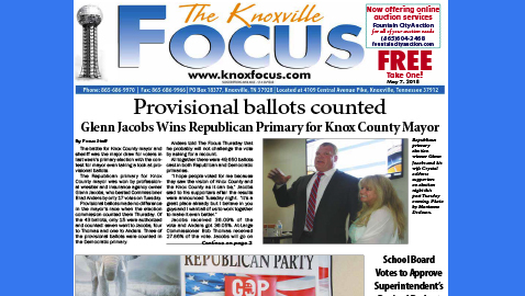 The Knoxville Focus for May 7, 2018