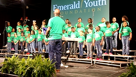 Record crowd attends Emerald Youth Prayer Breakfast to hear of new program 'Imagine a City'