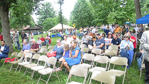 Rain did not deter Honor Fountain City Day