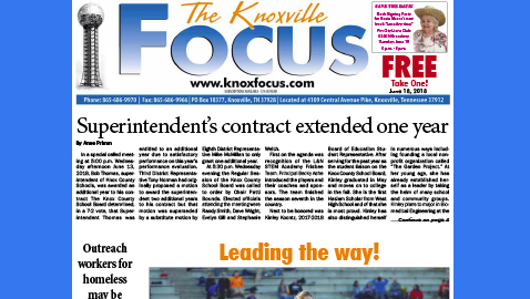 The Knoxville Focus for June 18, 2018