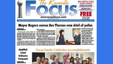 The Knoxville Focus for June 25, 2018