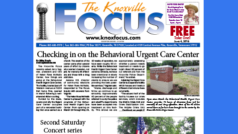 The Knoxville Focus for June 4, 2018