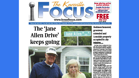 The Knoxville Focus for July 9, 2018