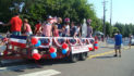 Residents brave heat to celebrate independence at Farragut Parade