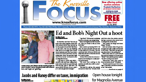 The Knoxville Focus for July 23, 2018