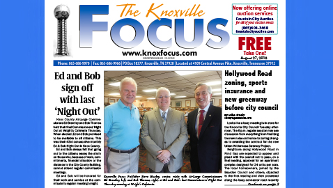 The Knoxville Focus for August 27, 2018