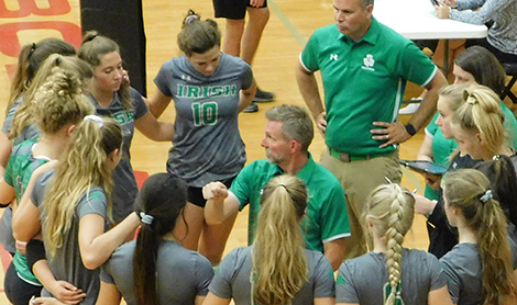Lady Irish sweep past Central, CAK and Fulton