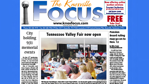 The Knoxville Focus for September 10, 2018