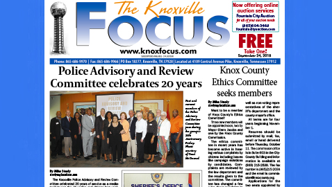 The Knoxville Focus for September 24, 2018