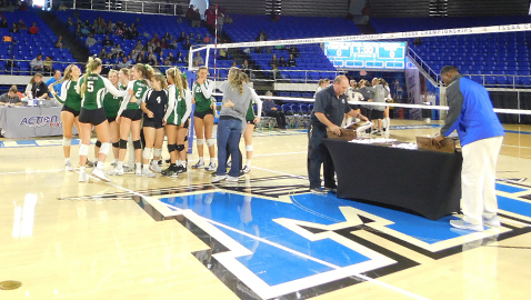 Lady Spartans make history with sixth straight volleyball title
