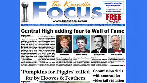 The Knoxville Focus for October 29, 2018