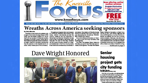 The Knoxville Focus for November 26, 2018