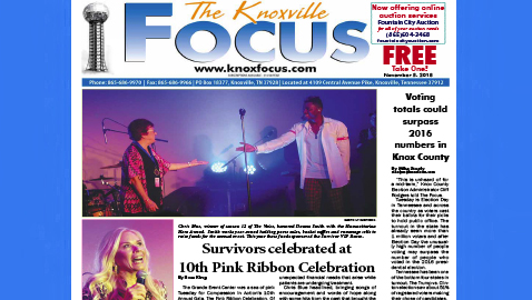 The Knoxville Focus for November 5, 2018