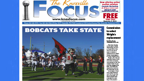 The Knoxville Focus for December 3, 2018