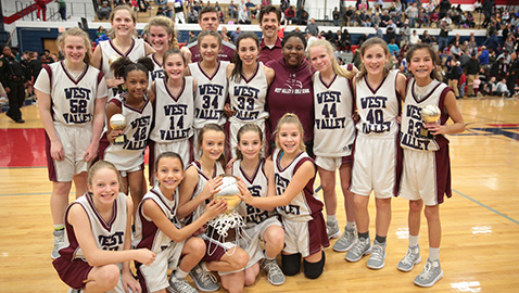 Big second half nets title for West Valley girls