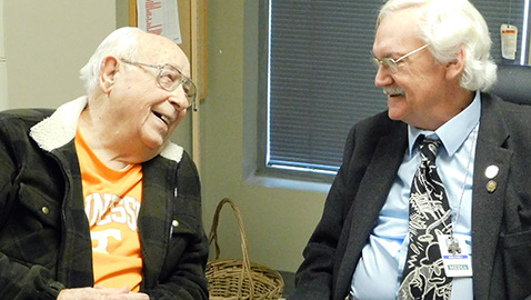 Walter Maples reflects on 90 years