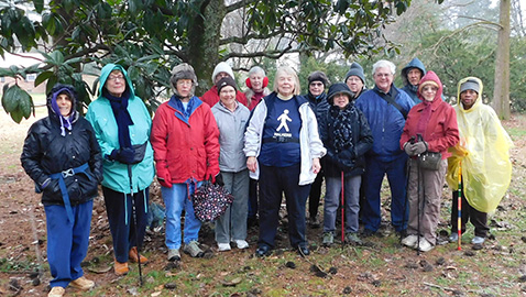 Thursday Walkers at O'Connor centers on older seniors