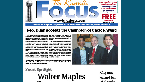 The Knoxville Focus for January 28, 2019
