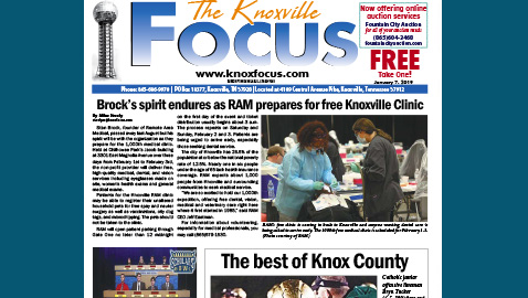 The Knoxville Focus for January 7, 2019