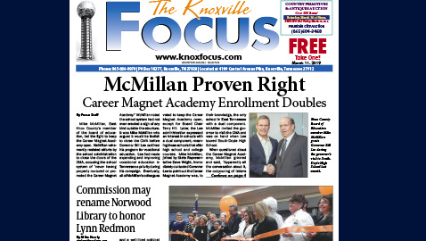 The Knoxville Focus for March 11, 2019